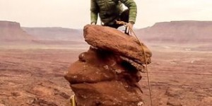 Video: Moab Ancient Art Rock Climb