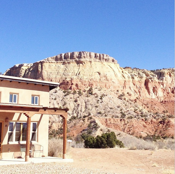 The view from Ghost Ranch. Image courtesy Mariele Ivy.