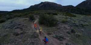 Watch: Mountain Biking at Night