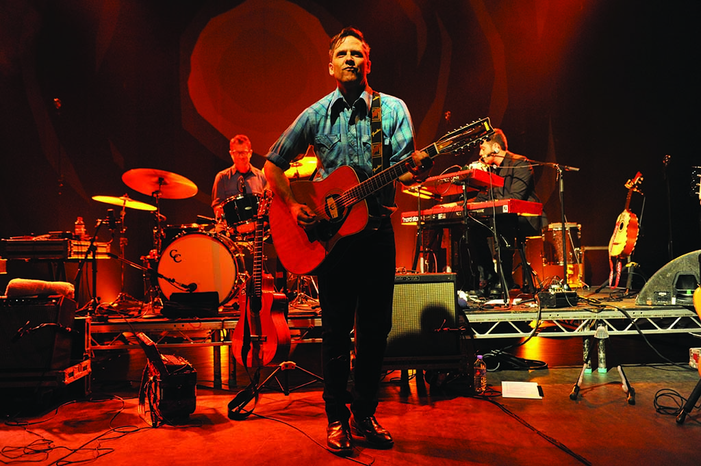 Drawing influences from global sounds, Calexico's newest album, Edge of the Sun, was written and recorded in Tucson and Mexico City.