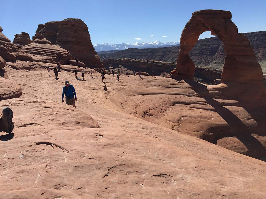 The infamous Delicate Arch. Photo by Kay Kirchner.
