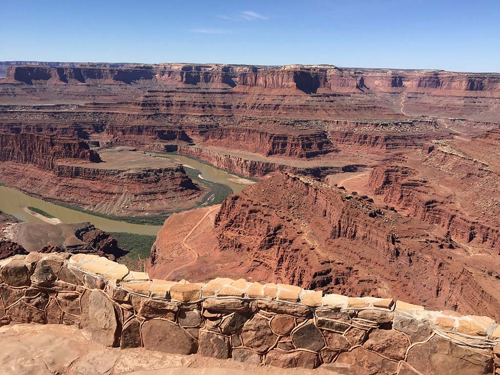 The Colorado River, about 2,000 below Dead Horse Point. Photo by Kay Kirchner.