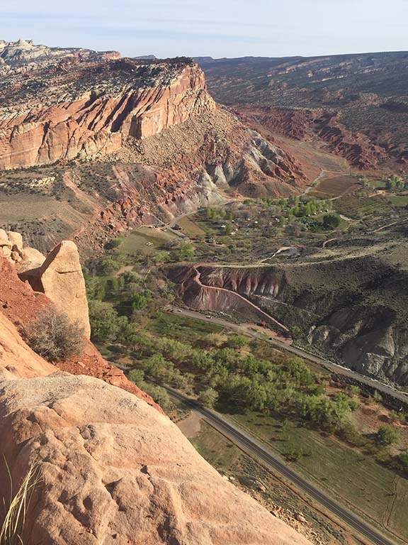A view from the Rim Overlook. Photo by Kay Kirchner.