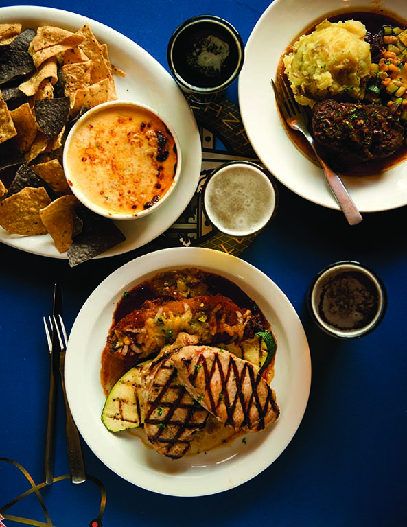 Many of New Mexico's beers are crafted to stand up to the bold flavors of Southwestern cuisine.