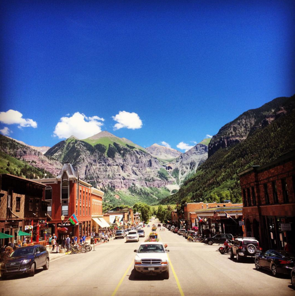Telluride's Main Street is home to a slew of historic sites.