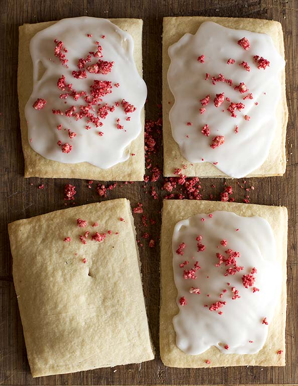 House-made cherry pop tarts.