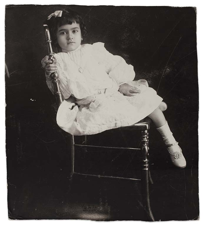 Frida at the age of 5, Anonymous, 1912 ©Frida Kahlo Museum