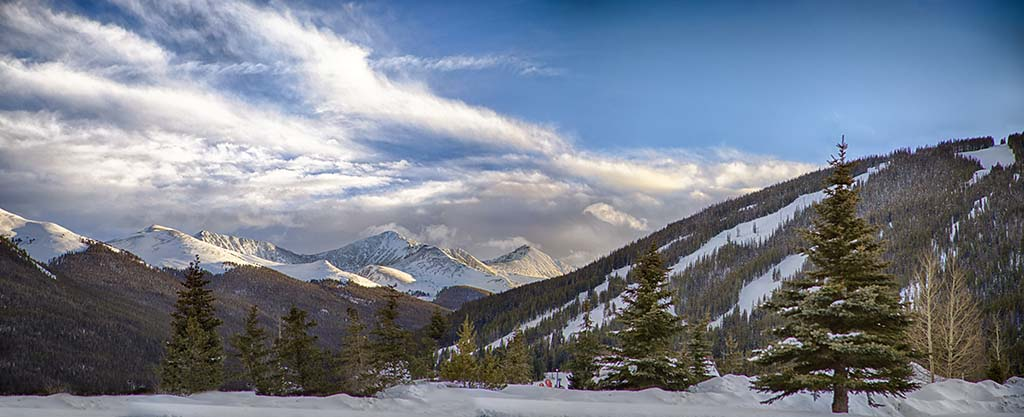 Sunset at Copper Mountain. Photo by Tripp Fay, Copper Mountain Resort.