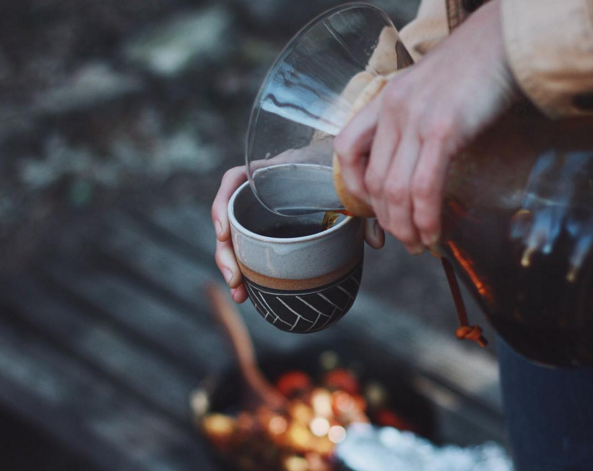 Cute mugs make camping even better. Photo by Foxwares Ceramics.