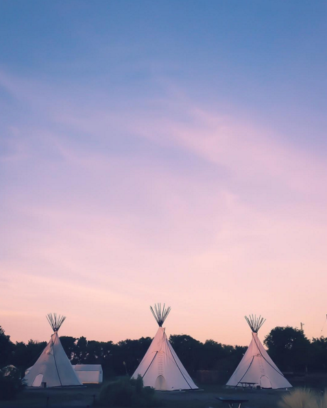 Those Marfa sunsets. Photo by Kate Evans.