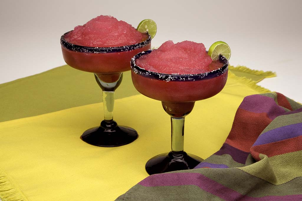 The Fort's prickly pear margarita.