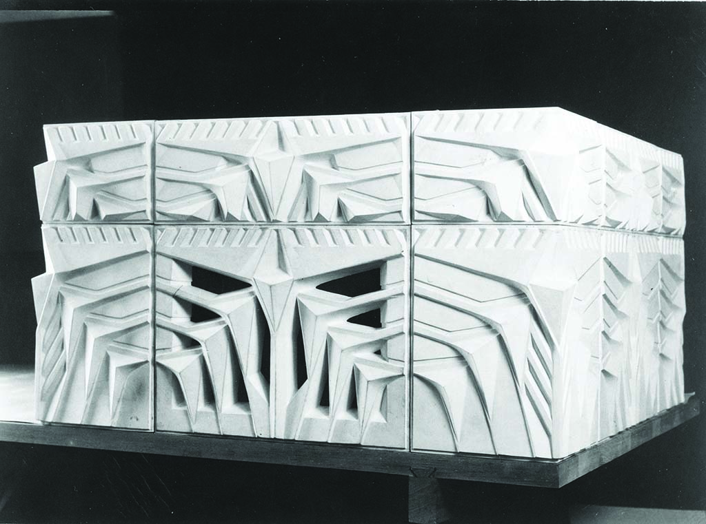 "Concrete ""Biltmore Blocks"" served as the design foundation for the Arizona Biltmore resort. Photo by Albert MacArthur."