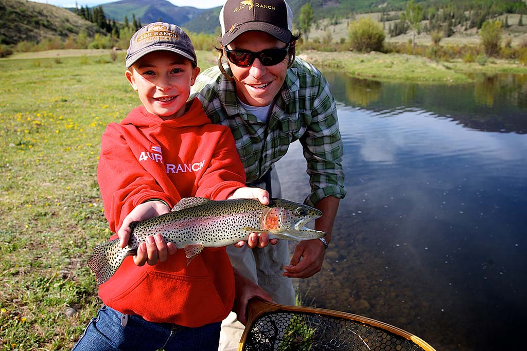 Weekend getaways: The catch of the day at 4UR Ranch. Photo courtesy of 4UR Ranch.
