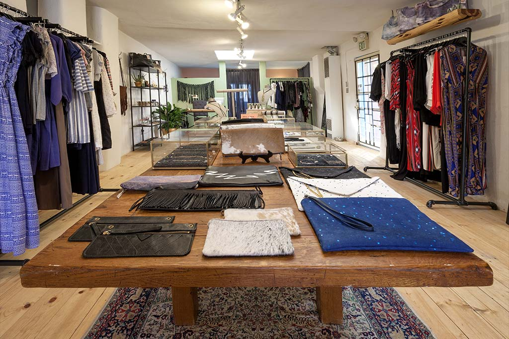 wanderer boutique in Taos
