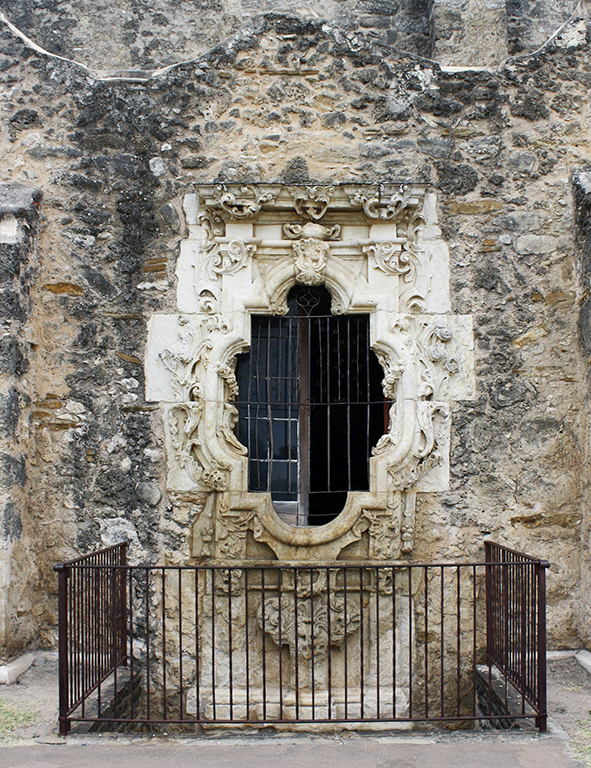 Touring the Missions of San Antonio: San José's elaborately carved Rose Window. Photo courtesy of NPS.