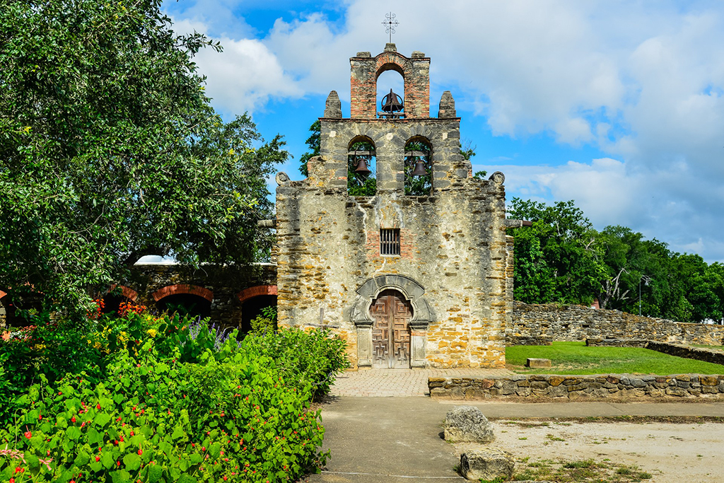 Touring the Missions of San Antonio: San Francisco de la Espada. Photo courtesy of the San Antonio CVB.