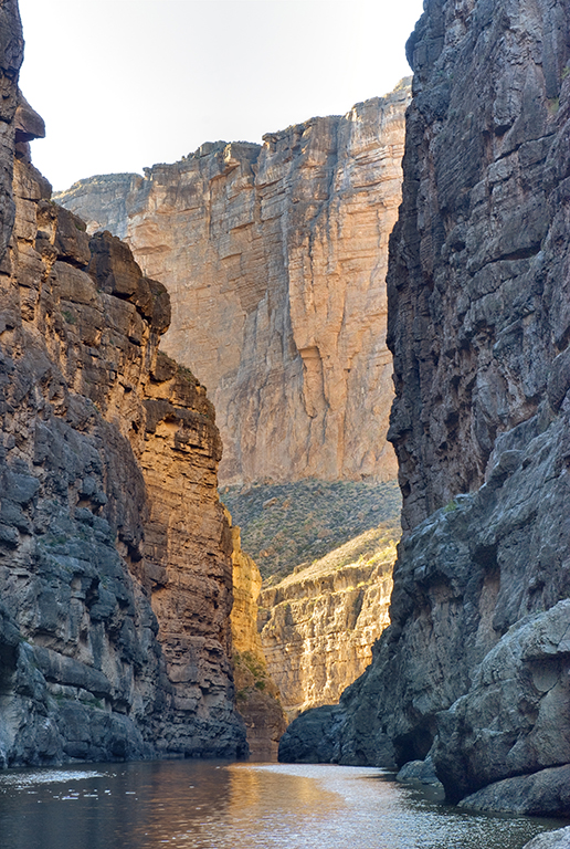Big Bend's Santa Elena Canyon at sunset. Photo by Witold Skrypczak/Getty.