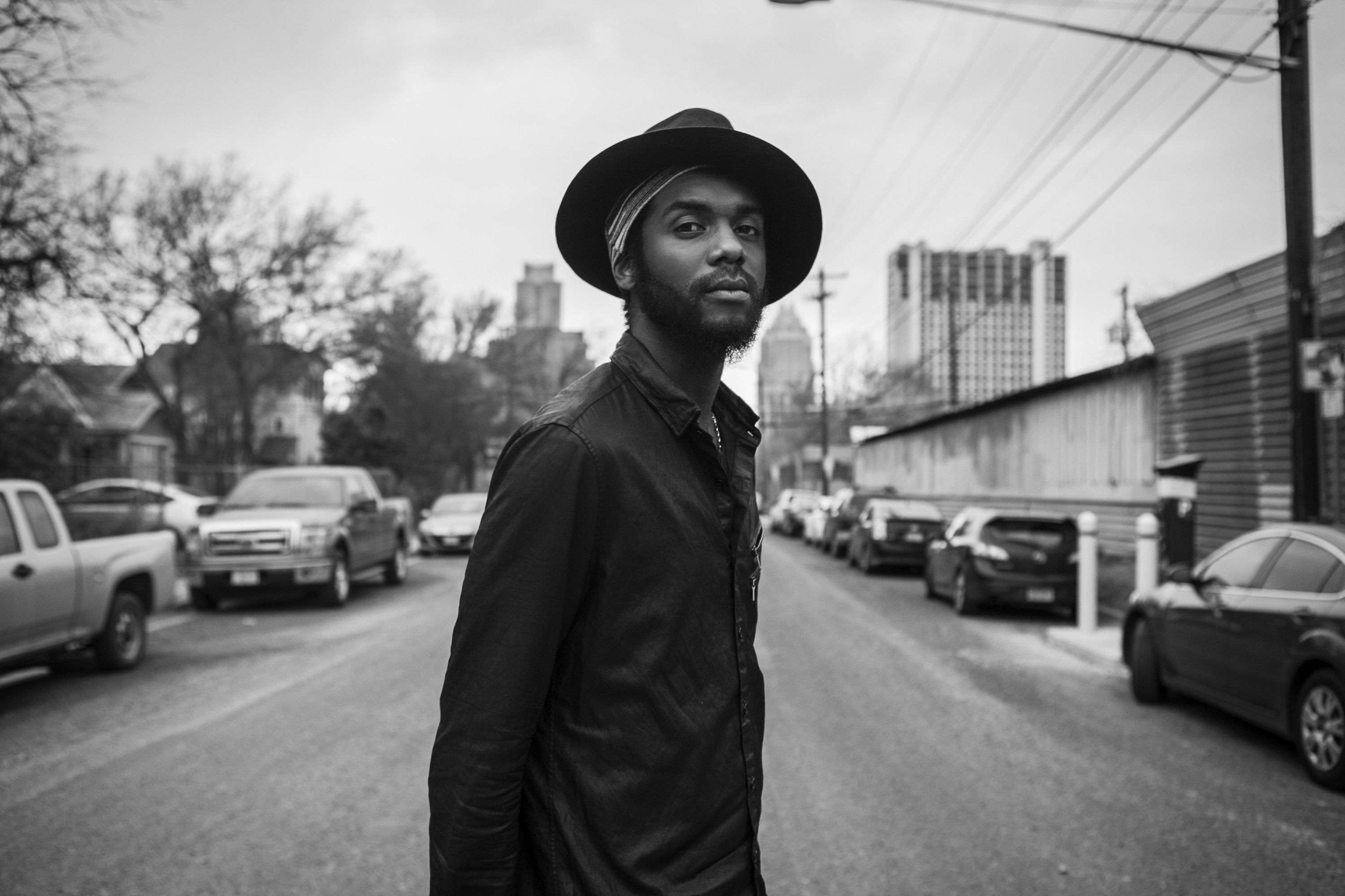 Southwestern musicians: Blues sensation Gary Clark Jr. plays the Red Butte Garden Amphitheatre in Salt Lake City on July 31. Photo by Frank Maddocks.