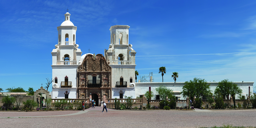 Tucson may be Arizona's unofficial taco capital, with stands and restaurants serving endless variations, from a hybrid taco-quesadilla to fluffy fry-bread versions at Mission San Xavier del Bac.
