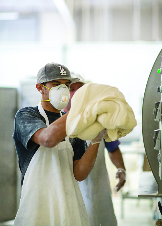 La Sonorense Tortilla Bakery in south Phoenix produces up to a million corn and flour tortillas a week for restaurants and resorts across Arizona.