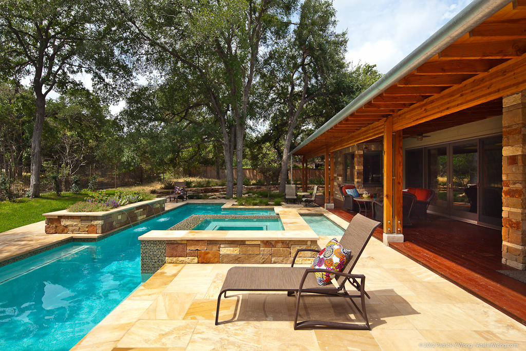 Gunn Residence on the 2012 AIA Austin Homes Tour designed by CG&S Design Build