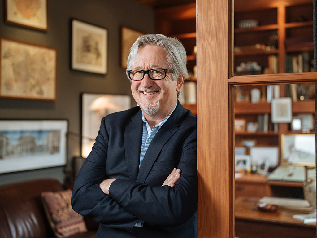 San Antonio-based architect Michael G. Imber. Photo by Josh Huskin.
