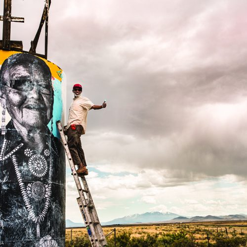 Chip Thomas Murals Dot the Navajo Nation Landscape