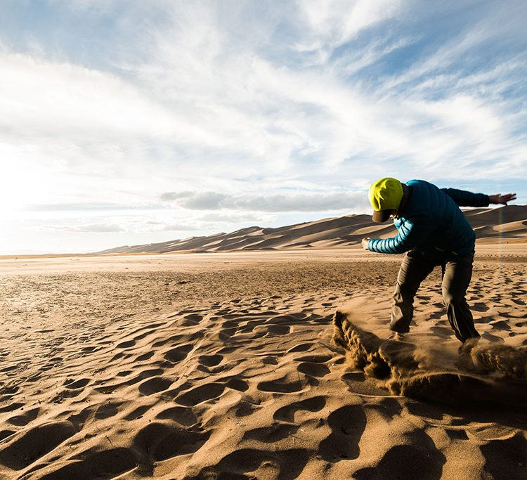Watch: Sand Boarding in Colorado