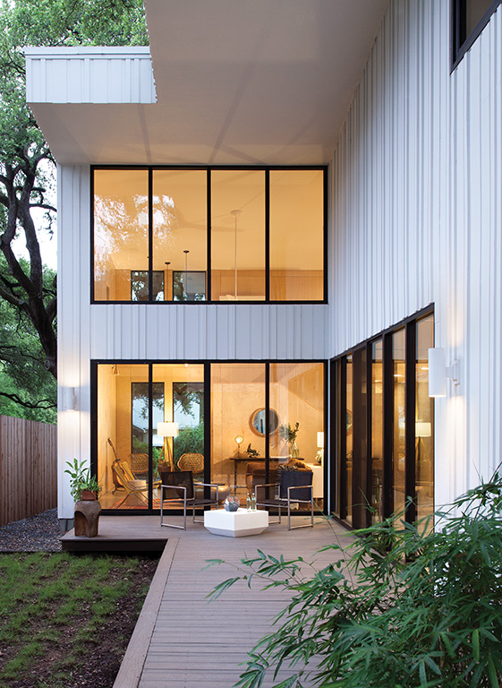 Modern Treehouse in Austin